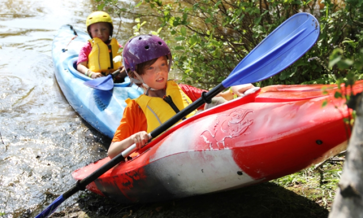 Adult & Kids Kayak Birthday Party Cuckmere